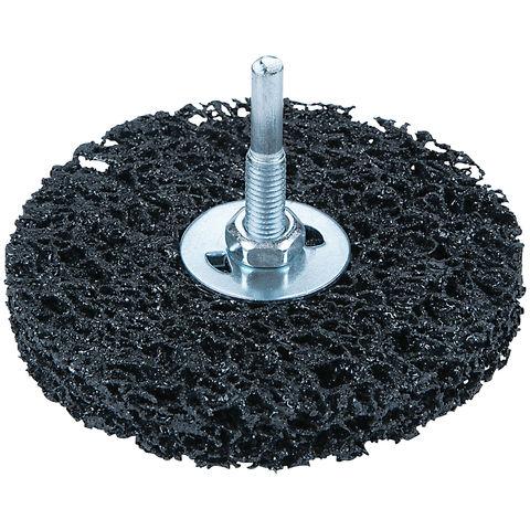 Image of Machine Mart 100mm Aluminium Oxide Abrasive Brush