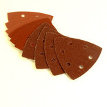 Aluminium Oxide Delta / Detail Sander Sheets - 10 Assorted sheets