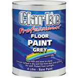 Clarke FP4L Professional Floor Paint - Grey