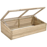 Forest 37x109x63cm Shiplap Coldframe With Gas Arms