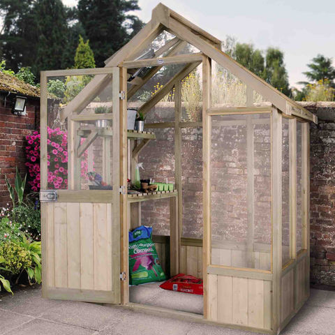 Image of Forest Forest Vale 6x4 Greenhouse (Assembled)