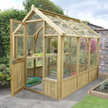 Forest Vale 8x6 Greenhouse (Assembled)