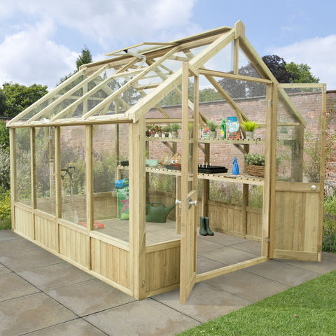 Image of Forest Forest Vale 10x8 Greenhouse (Assembled)