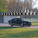 Clarke CC20 Heavy Duty Chequer Style Pop Up Canopy (3x6.1m)
