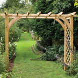 Forest 245x270x136cm Large Ultima Pergola Arch