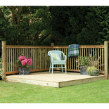 Forest 130x249x244cm Patio Deck Kit