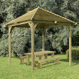 Forest 331x293x293cm Venetian Pergola Without Deck