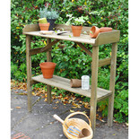 Forest 93x38cm Timber Potting Table