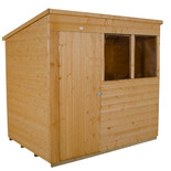 Forest 7x5ft Pent Shiplap Dipped Shed