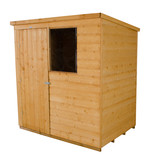 Forest 6x4ft Pent Shiplap Dipped Shed