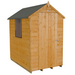 Forest 4x6ft Apex Shipland Dipped Shed