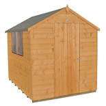 Forest 6x8ft Apex Shiplap Dipped Shed