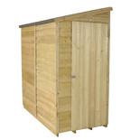 Forest 6x3ft Pent Overlap Pressure Treated Shed