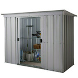 Yardmaster 64PZ 6ft x 4ft Metal Pent Shed