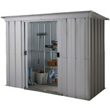 Yardmaster 104PZ 10ft x 4ft Metal Pent Shed