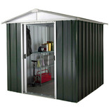 Yardmaster 65GEYZ 6ft x 4ft Metal Apex Shed