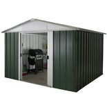 Yardmaster 108GEYZ 10ft x 8ft Apex Metal Shed