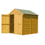 Shire 6' x 6' Overlap Apex Double Door Shed