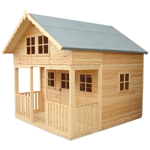 Image of Shire Shire 8' x 9' Lodge Playhouse