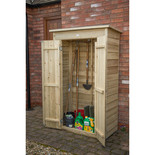 Forest Pressure Treated Pent Tall Garden Store (Pressure Treated)