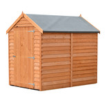 Shire Overlap 6' x 4' Single Door Shed