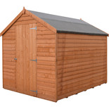 Shire Overlap 7' x 5' Single Door Shed