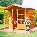 Shire 7' x 7' Alnwick Summerhouse
