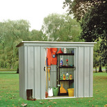 Yardmaster 84PZ Metal Shed 8x4ft