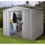Yardmaster 1010ZGEY 10ft x 10ft Metal Shed