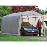 Clarke CIG1015 Heavy Duty Garage/Workshop - Grey (4.6x3x2.4m)