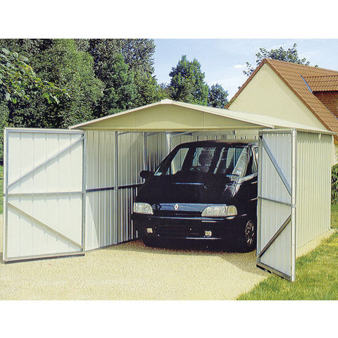 Image of Machine Mart Xtra Yardmaster Metal Storage Building/Garage 2.97m x 5.22m