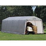 Clarke CIG1020 Heavy Duty Garage/Workshop - Grey (6.1x3x2.4m)