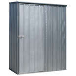 Sealey 1.5 x 0.8 x 1.9m Galvanized Steel Shed