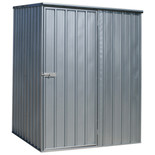 Sealey 1.5 x 1.5 x 1.9m Galvanized Steel Shed