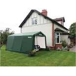 Clarke CIG81216 Garage / Workshop – Green (4.9 x 3.7 x 2.6m)