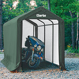 Clarke CIS8612 Motorcycle Shelter/Shed (3.7 x 2 x 2.4m)