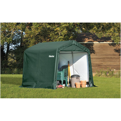 Image of Clarke Clarke CIS788 Motorcycle Shelter/Shed (2.4 x 2.4 x 2.1m)
