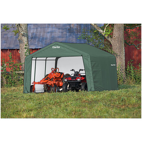 Image of Clarke Clarke CIS81212 Motorcycle Shelter/Shed (3.6 x 3.6 x 2.5m)