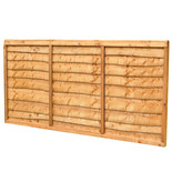 Forest 6x3ft Trade Lap Fence Panel 4 Pack