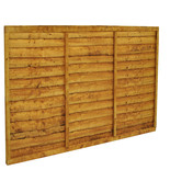 Forest 6x4ft Trade Lap Fence Panel 3 Pack