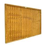 Forest Closeboard 6x4ft Fence Panel 4 Pack