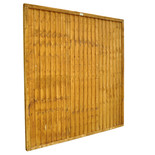 Forest Closeboard 6x6ft Fence Panel 4 Pack