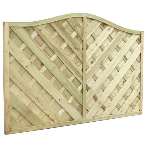 Image of Forest Forest 120x180cm Strasburg Fence Panel 4 Pack