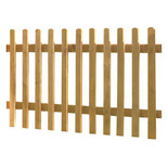 Forest 90x183cm Pale Fence Panel 3 Pack