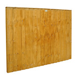 Forest 6x4ft Feather Edge Fence Panel 5 Pack