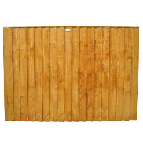 forest 6x4ft feather edge fence panel 10 pack machine. Black Bedroom Furniture Sets. Home Design Ideas