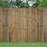 Forest 6x6ft Pressure Treated Featheredge Fence Panel (3 Pack)