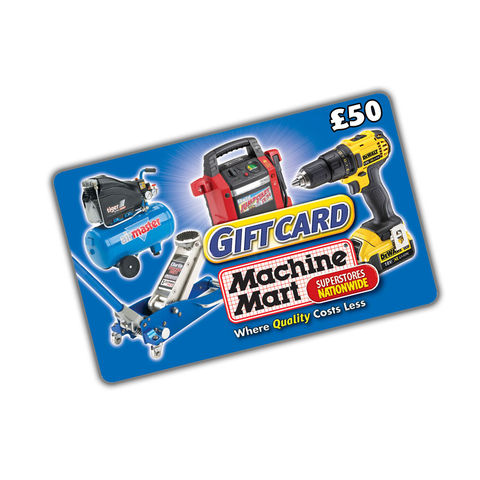 Image of Machine Mart £75 Machine Mart Gift Card